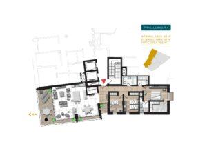 tigne point apartment plan